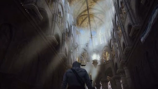 The 2014 game 'Assassin's Creed: Unity,' which was developed in Montreal, features a detailed recreation of the Notre Dame Cathedral.
