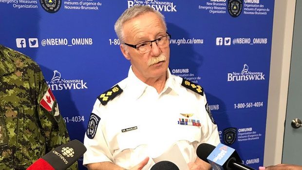 Greg MacCallum, director of New Brunswick's Emergency Measures Organization, says the rising waters are sure to lead to road closures in several areas, particularly in the Fredericton area and communities farther south.