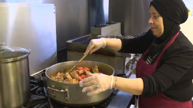 Cafe offers international cuisine while giving women new skills
