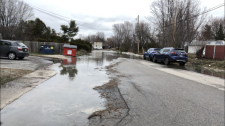 Flooding in Gatineau April 20, 2019