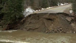 Spring flooding claims woman's life in Pontiac