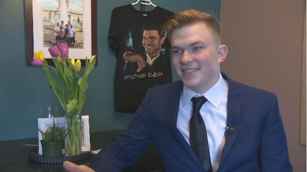 Young Winnipegger steals the show at Bublé concert