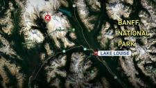calgary, yoho national park, avalanche, alberta, b