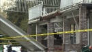 Wedding guests recovering after deck collapse