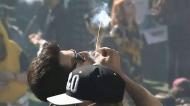 Huge turnout at Vancouver 4/20 event