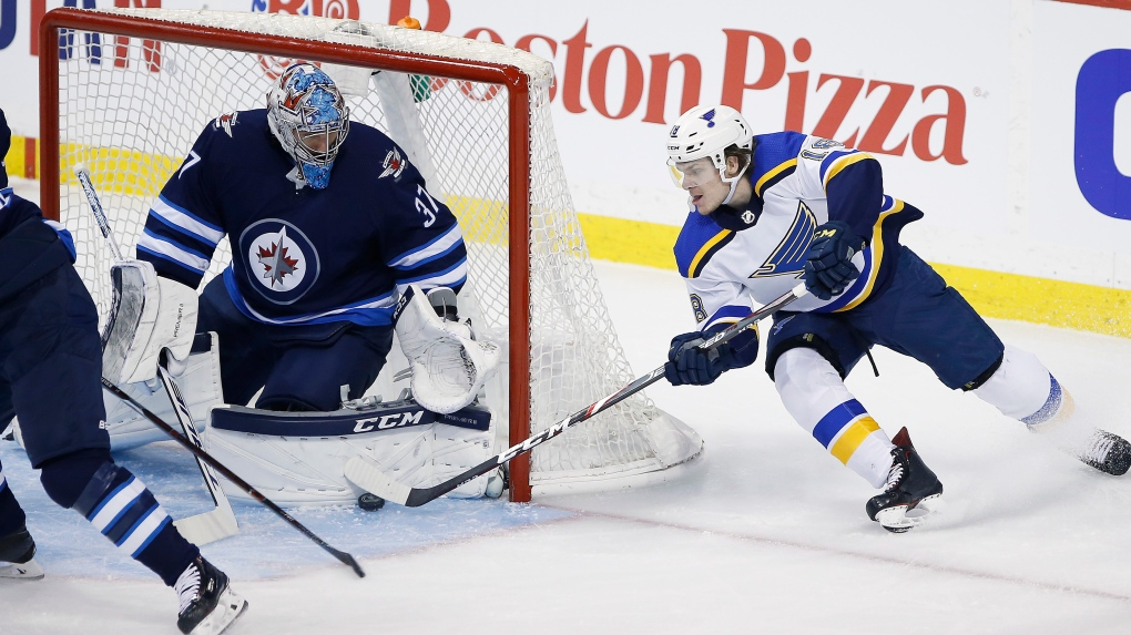 Winnipeg Jets eliminated from Stanley Cup playoffs after 3-2 loss to Blues