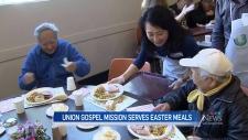 Union Gospel Mission serves Easter meals