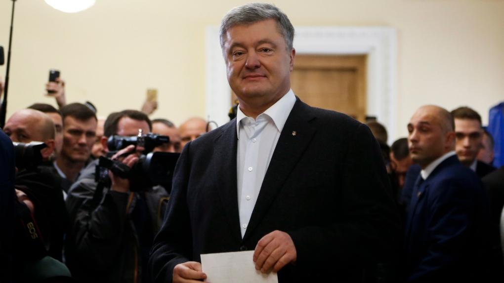 Ukraine: Exit poll has comedian routing incumbent president