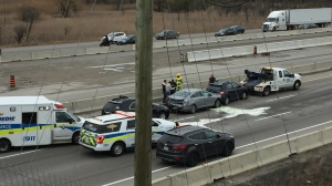 401 Cambridge crash