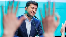 Comedian elected as Ukraine's next president