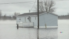 N.B. premier urges caution as floodwaters rise
