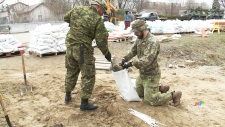 Army called in to Gatineau flood zone