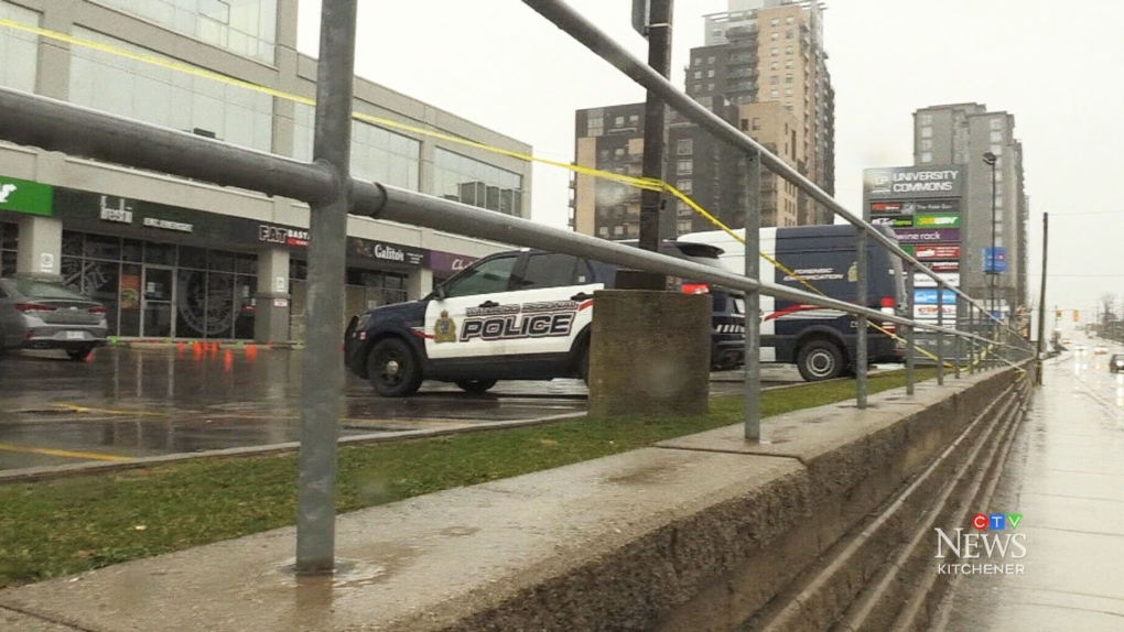 Waterloo plaza gets back to business after shooting incident