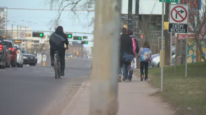 Report on adding bike lanes to 109 Street in Garneau to go before council this week