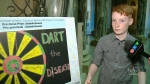 Grade six student designs new measles poster