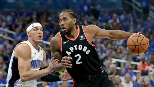 Toronto Raptors' Kawhi Leonard