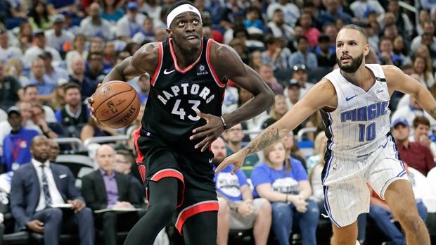 Raptors thump Orlando in Game 4, winning 107-85