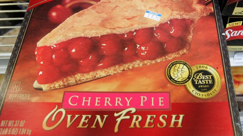 frozen cherry pie