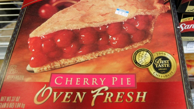 frozen cherry pie