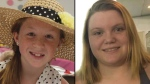 Abigail Williams (left) and Liberty German (right) are seen in this handout photo. (Indiana State Police)