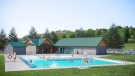 The new swimming pool at Buffalo Pound Provincial Park will open in the summer of 2020.