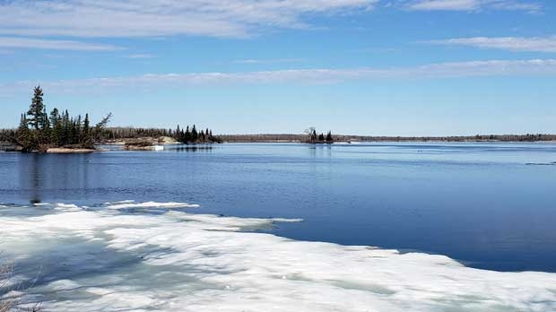 Otterfalls in Whiteshell. Photo by Janice King.