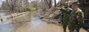Flood watch in Eastern Canada