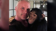 Canadian man saves chimpanzee in Iraq