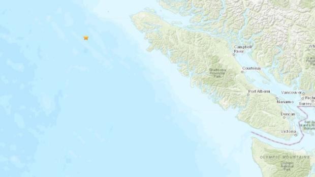earthquake canada