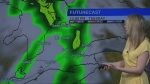 Warm temperatures, rain ahead on forecast