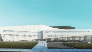The province has decided to stop construction on the AHS super lab to allow the UCP government to review the project.