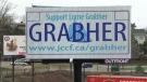 Lorne Grabher billboard