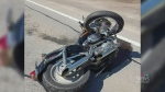 Rider seriously injured in Hwy. 8 motorcycle crash