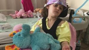 Girl, 6, in hospital recovering from major stroke