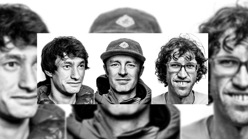 American Jess Roskelley (centre) and Austrians David Lama (left) and Hansjorg Auer (right) are shown in these handout photos. The bodies have been recovered of the three renowned mountain climbers who were believed to have been caught in a large avalanche in Banff National Park last week. THE CANADIAN PRESS/HO-The North Face, *MANDATORY CREDIT*