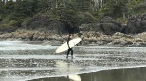 Trudeau surfing