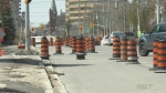 Construction begins again on major Kitchener stree