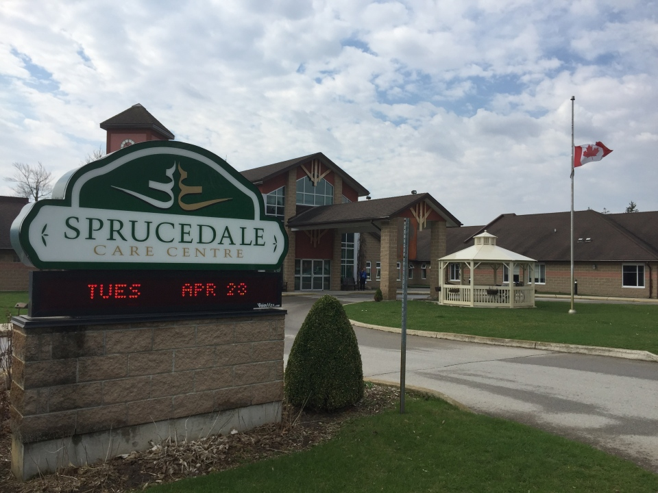 Sprucedale Care Centre in Strathroy