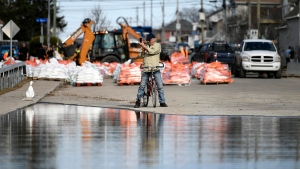 Floodwaters in Gatineau, Que.