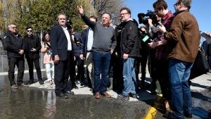 Quebec Premier Francois Legault speaks