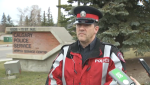 Sergeant Colin Foster of the Calgary Police Servic