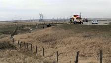 High River, Highway 23, fatal crash, man killed, s