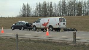 Anthony Henday crash April 22
