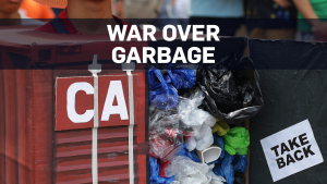 What's the deal with Canadian garbage in Manila?