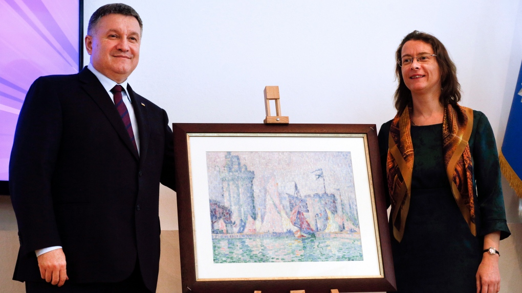 Impressionist painting stolen from French museum found in Ukraine