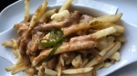 Sooke's 17 Mile Pub also offers a Maple Leafs Poutine, described as a 'cold, overpriced dish, served with under-performing gravy, ice-cold fries, and a side of disappointment.' (Ken Whitaker)