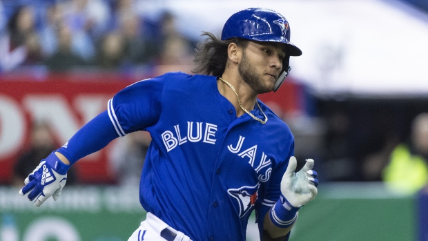 Touted Jays prospect Bichette has broken hand