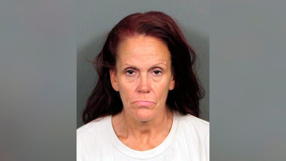 This booking photo released by Riverside County Animal Services on Tuesday, April 23, 2019, shows Deborah Sue Culwell. (Riverside County Animal Services via AP)