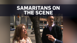 Good Samaritans recall helping van attack victims