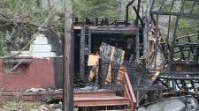 Suspicious fire destroys home in Bracebridge